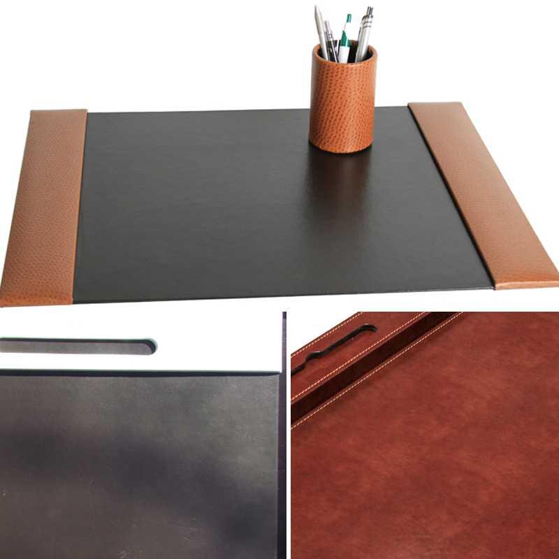 custom, custom leather desk mat, custom blotter, custom desk mat
