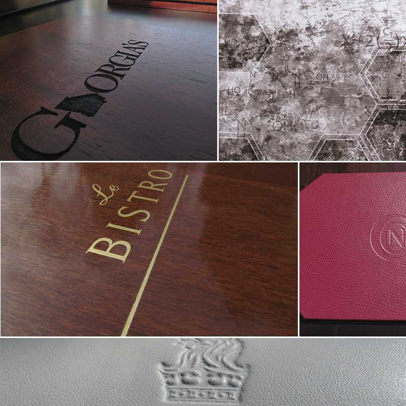 custom placemats, custom leather placemat, custom restaurant placemat, custom hotel placemat