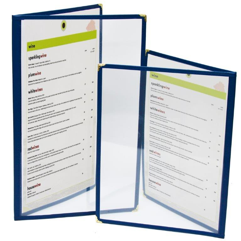 cafe menu covers