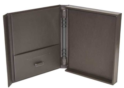 leather presentation box