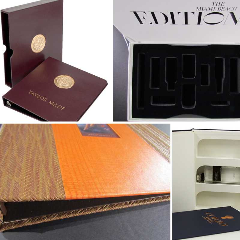 Custom Presentation Boxes for Hotel, Guest Rooms, and Conference Rooms