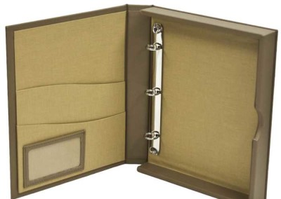 presentation box brown
