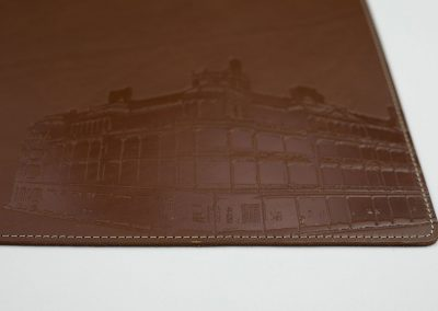 Brown Embossed Building 02 wr